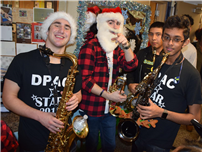 Busy Brass Ensemble Brings Holiday Sounds to Primary Schools 2