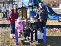 Girl Scout Depre Donates Buddy Benches to JQA