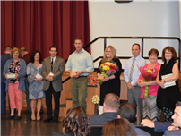 District Recognizes Retiring, Tenured and Long-Serving Employees