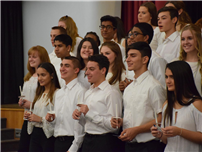 High School Welcomes 61 New National Honor Society Members