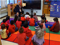 Legislator Berland Brings Llove of READing to JQA 3