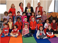 Legislator Berland Brings Llove of READing to JQA