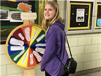 Frost's Gold-Card Middle Schoolers Spin the Wheel 2