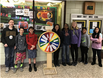 Frost's Gold-Card Middle Schoolers Spin the Wheel