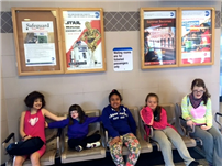 JFK Students Gain Experience with Train Trip