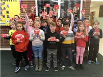 JFK Third-Graders Honor 104-Year-Old Vet with Valentines thumbnail162505