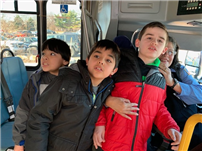 JFK Students Experience Traveling to the Mall