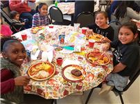 JFK Fourth-Graders Share Cultural Foods at Feast