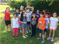 May Moore Students Observe Ladybug Life Cycle