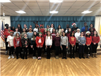 Frost's Chamber Choir Brings Seasonal Spirit to Local Nursing Homes