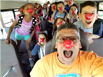 Red Noses at May Moore, Courtesy of the Bus Driver