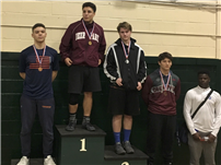 Wrestler Scaffidi Earns First Tournament Title