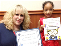 May Moore Second-Grader Wins Veterans Art Contest