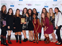 Undefeated Girls Tennis Team Honored