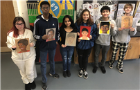 High School Artists Demonstrate Cmpassion and Talent with Memory Project